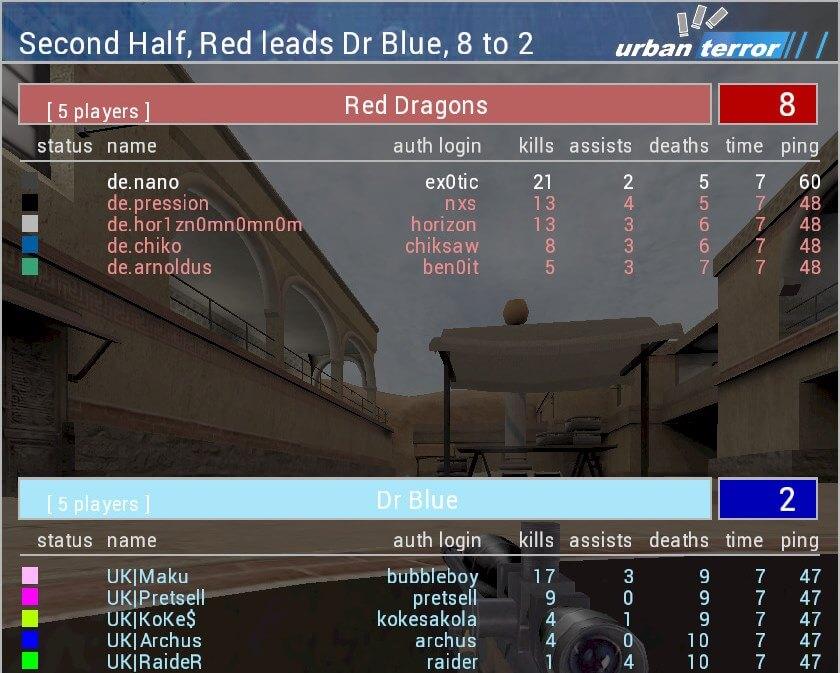 Bild: NC XX Round 1 - GER vs UK - Mandolin Bomb II